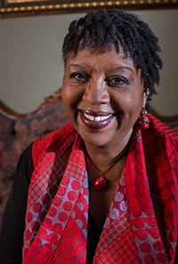 Nikki Grimes. Photo credit: Aaron Lemen